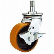 Wholesale Heavy-duty Double Ball Bearing Iron Core TPU Caster, Heavy-duty Double Ball Bearing Iron Core TPU Caster Wholesalers