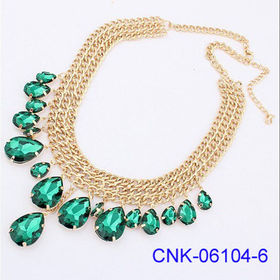 Fashionable Golden Heavy Chain Necklace from China (mainland)