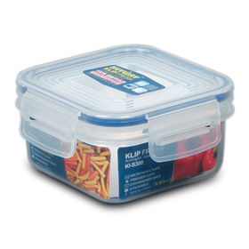 Square Klip Fresh Food Storage Container from Taiwan
