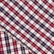 Cotton Plaid Yarn-dyed Shirting Fabric from China (mainland)
