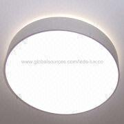 Round Ceiling-mounted LED Panel Light from China (mainland)
