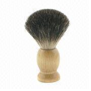 Pure black badger hair shaving brush from China (mainland)