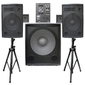 Paint PA Speaker Box System, 2x12