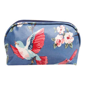 Promotional Polyester Cosmetic Bag for Girl, Made of Canvas Material, Sized 12 x 20 x 8cm from Fuzhou Oceanal Star Bags Co. Ltd