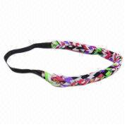 Colored Fabric Braided Headband Manufacturer