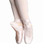 Satin Ballet Shoes from China (mainland)