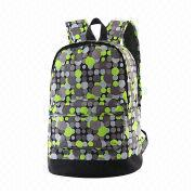 Fashionable Cheap Promotional Leisure Polyester School Backpack, Sized 30 x 18 x 41cm from Fuzhou Oceanal Star Bags Co. Ltd