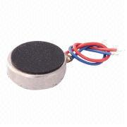 D8 x T2.7 Waterproof Coin Vibration Motor with 55mA Low-current Consumption at 3.0V DC