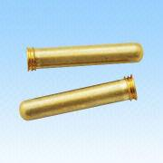 Brass Contact Pins, Used for Plugs, with RoHS Mark from HLC Metal Parts Ltd
