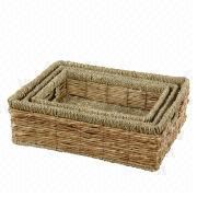 Hand Woven Natural Storage Basket from China (mainland)