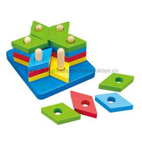 2013 Custom OEM 3D Wooden Cute Puzzle for Kids, Unit Sized 11x12x6cm/EN71 Test/Nontoxic