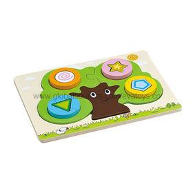 Children's Wooden Blocks Puzzle with High Quality/Unit Sized 30x22.5x2.4cm/EN71 Test/Nontoxic