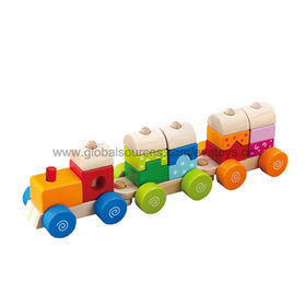 2013 wooden train toy Manufacturer