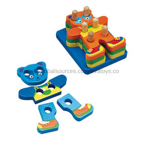 Wooden Children's Educational DIY Puzzle Toy