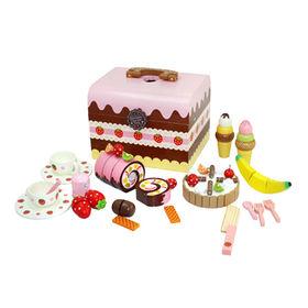 Kids' Wooden Cake Toy