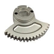 Aluminum Sector Transmission Gears, 0.05mm Tolerance, OEM/ODM Services Welcomed