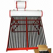 Non-pressurized galvanized steel solar water heater from China (mainland)