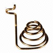 Brass conical spring from Hong Kong SAR