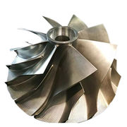 Titanium turbine impellers, made by DMG Mori, from ISO/TS, 16949:2009 manufacturer