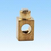 Electric Terminal, Made of Brass, Use for Electronic Components, TS16949 from HLC Metal Parts Ltd