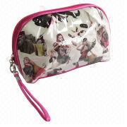 Hot sale PVC cosmetic bag for women from Fuzhou Oceanal Star Bags Co. Ltd