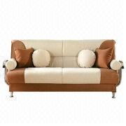 Istikbal Best Beige Brown Microsuede Convertible Sofa from China (mainland)