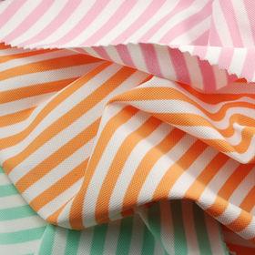 Feeder Striped Pique Fabric