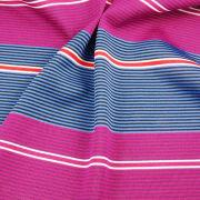 Auto-stripe Jersey Fabric, Made of 100% Poly with Wicking