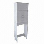 china bathroom cabinetspace saver with stylish white painted finish and easy to assembly - Bathroom Cabinets Space Saver