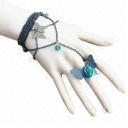 New Fashion Retro Lace Charm Bracelet from China (mainland)