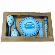 2013 top selling wooden musical instrument toy set