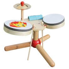 2015 music instrument wood drum toy Manufacturer