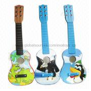 2013 New and Popular Wooden 21-inch Guitar Toy from China (mainland)