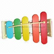 2013 beautiful rainbow 5-scale wooden xylophone Manufacturer
