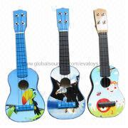 2013 New and Popular Wooden 17-inch Guitar Toy from China (mainland)
