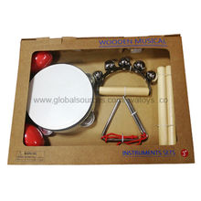 2013 top selling wooden musical instrument toy set Manufacturer