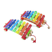2013 beautiful rainbow wooden xylophone Manufacturer
