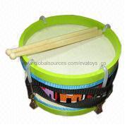 EN 71 2013 best selling wooden drum toy and sound Manufacturer