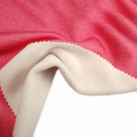 Flat Heather Fleece Fabric, Made of 93% Poly + 7% Spandex, Wicking and Anti-pilling
