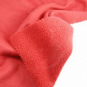 Suede Fleece Fabric from Taiwan