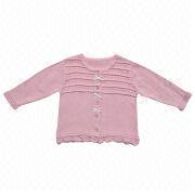 Baby's cotton sweaters from China (mainland)