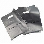 Promotion die out plastic bag Manufacturer