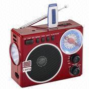 FM/AM/SW1-2 4-band PLL radio from China (mainland)