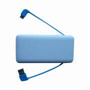 Power Bank, 6,000mAh Capacity, 5V/1A Input, 5V/2.1A, 1A Output from Shenzhen BAK Technology Co. Ltd