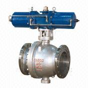 Pneumatic Flange Fixed Ball Valve from China (mainland)
