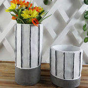 Ceramic Hand-painted Mini Flower Pots from China (mainland)