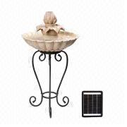 Solar Birdbath from China (mainland)