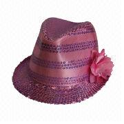 Girls' trilby hat from China (mainland)