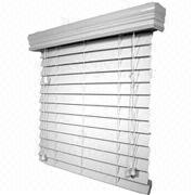"2"" PVC Faux-wood Blind Manufacturer"