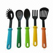 5-piece Nylon Cook's/Utensil Tool Set from China (mainland)